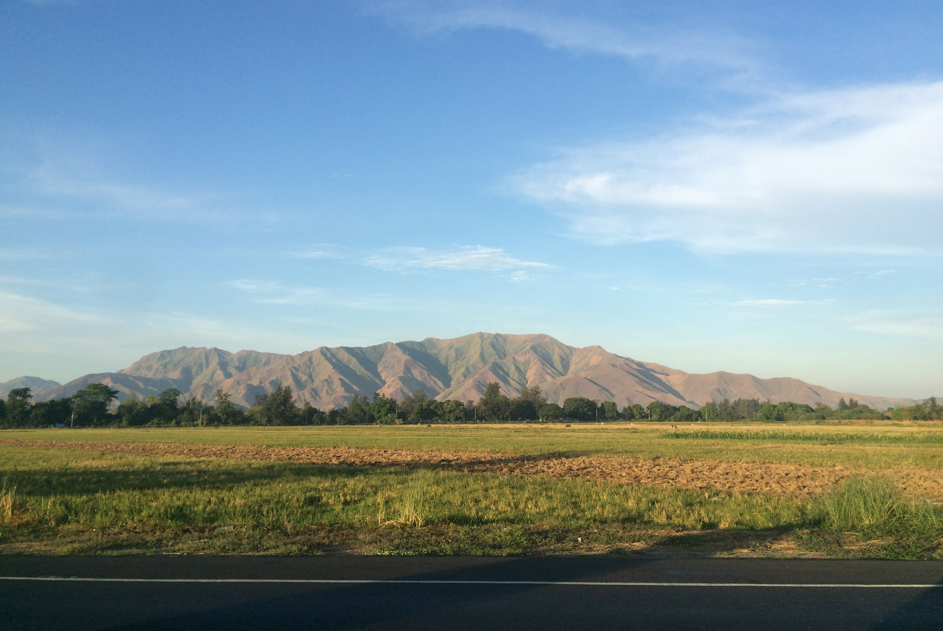 On the road to Zambales
