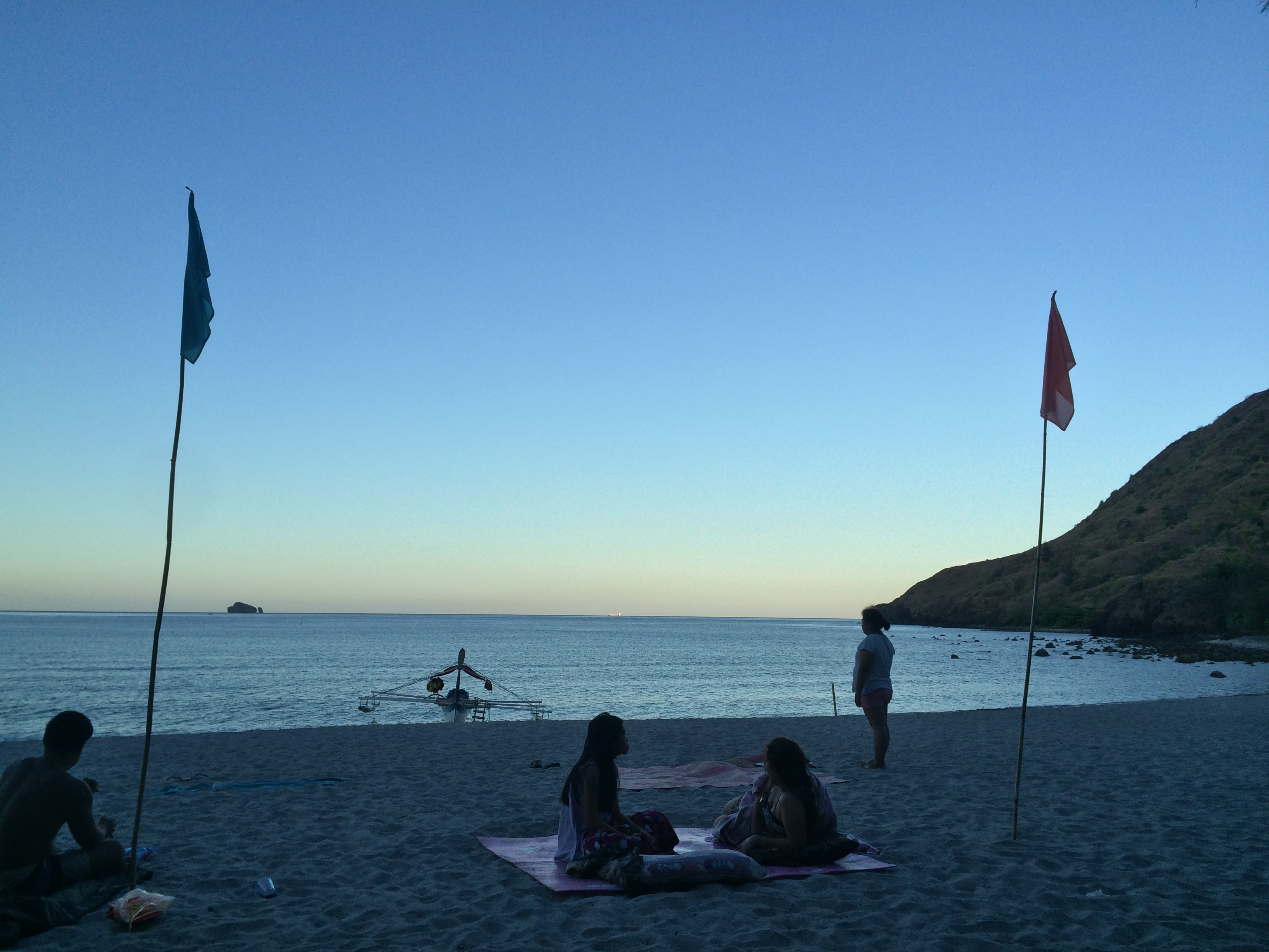 Dawn at Talisayen Cove, Zambales