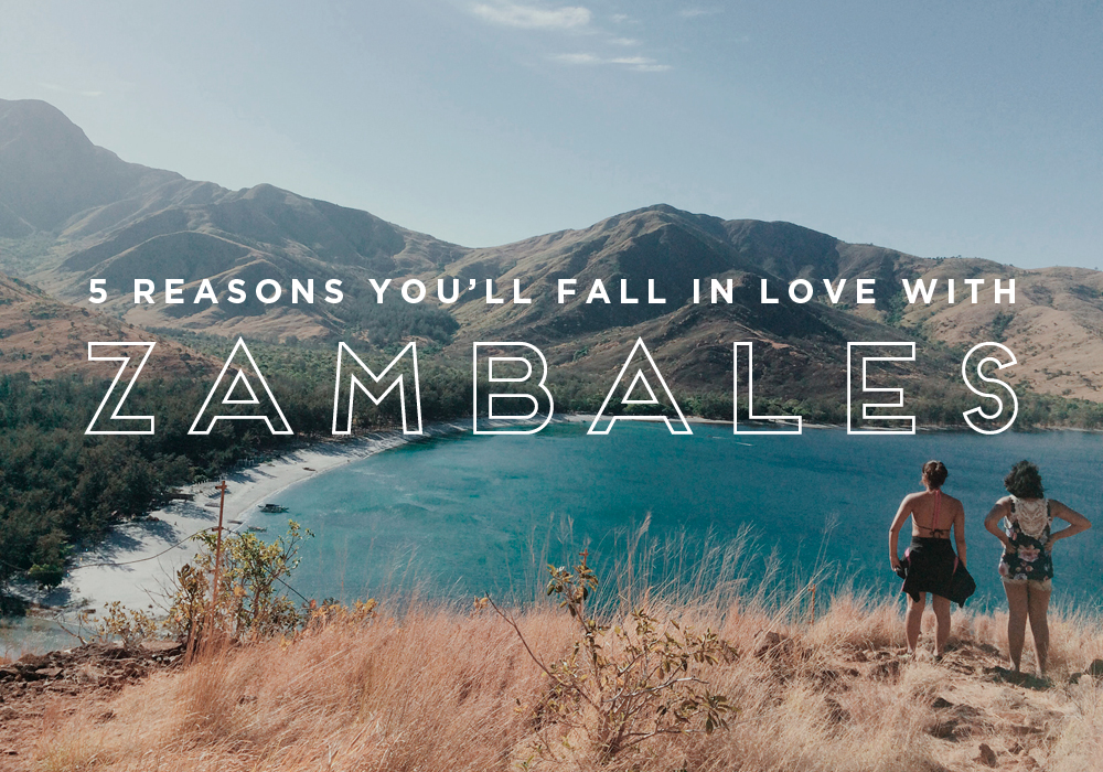 5 reasons you'll fall in love with Zambales & Talisayen Cove